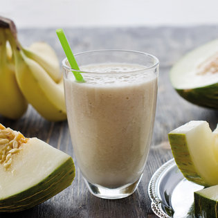 Smoothie melon / banane