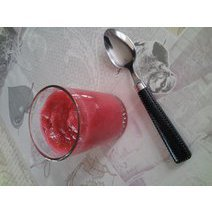 Compote pomme-cerise